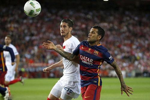 Vị trí của Dani Alves ở Barca vẫn chưa có người thay thế xứng đáng