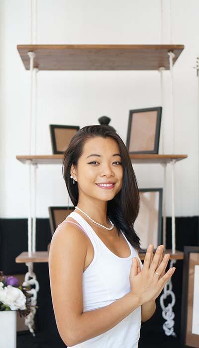 Milena Nguyễn giữ sắc vóc nhờ thực phẩm organic