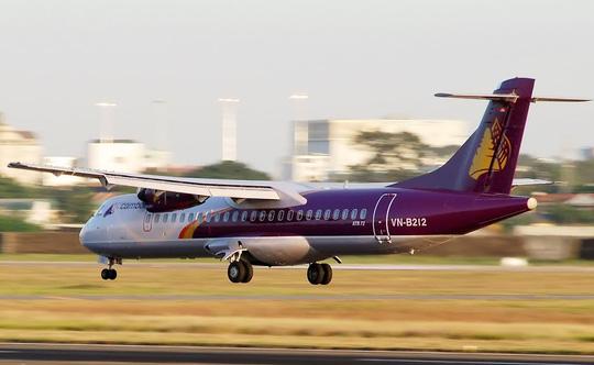 Một chiếc ATR72 của hãng hàng không Cambodia Angkor Air đang chuẩn bị hạ cánh - Ảnh minh họa