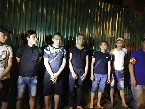 Nhóm thanh niên đi đòi nợ thuê bị lực lượng 141 phát hiện