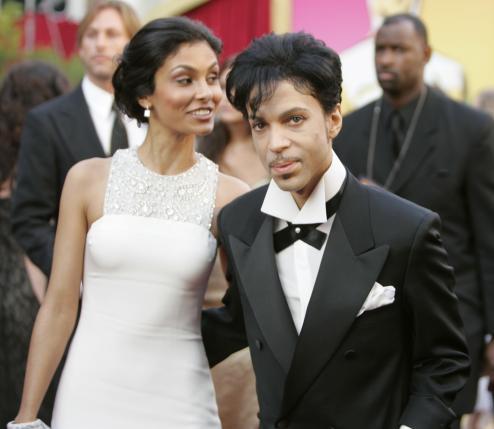 Prince và vợ