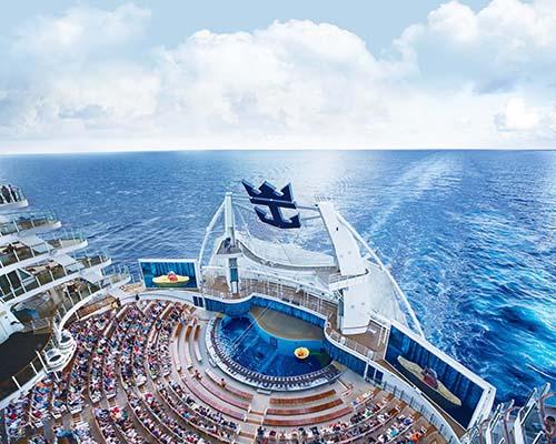 Siêu du thuyền Harmony of the Seas đang tạo nên một khái niệm mới về lối sống, thỏa mãn giấc mơ về cuộc đời tươi đẹp trong một thế giới hoàn hảo có thực dù thời gian lên thuyền chỉ vài ngày, một tuần hay cả tháng Ảnh: Royal Caribbean International