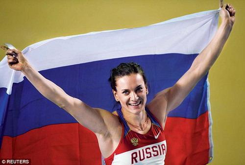 VĐV nhảy sào Elana Isinbayeva mất cơ hội lần thứ 3 liên tiếp giành HCV Olympic