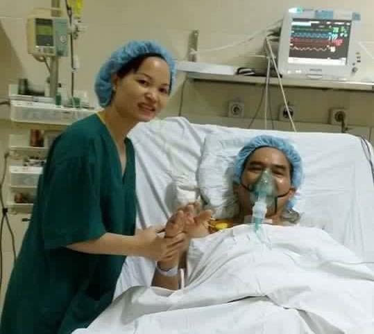 Bệnh nhân ghép tim khỏe mạnh sau ca ghép tạng xuyên Việt - Ảnh: bác sĩ cung cấp