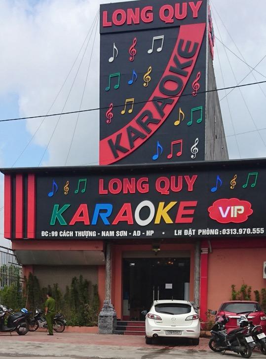 Quán karaoke xảy ra sự việc