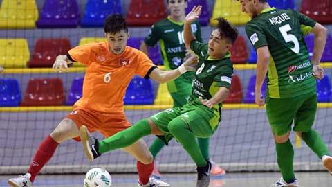 Tuyển futsal Việt Nam có trận giao hữu bổ ích thứ 2 tại Tây Ban Nha