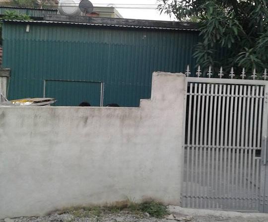 Căn nhà nơi phát hiện thi thể bà Nguyễn Thị Hương - Ảnh: Thanh Yên