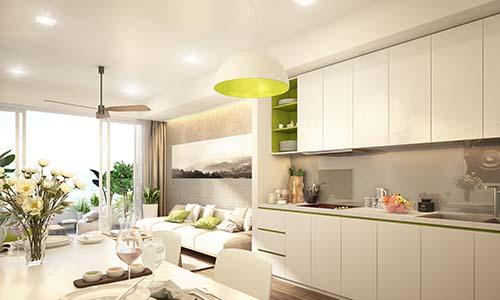 Ariyana được thiết kế theo phong cách tiện dụng, hiện đại, thoáng đãng, tối ưu không gian sử dụng