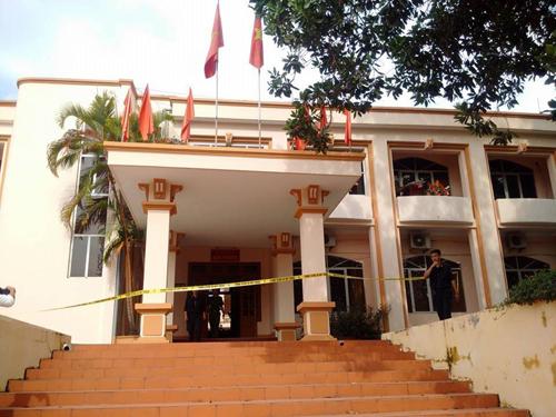 Phong tỏa hiện trường vụ nổ súng khiến Bí thư Tỉnh ủy Yên Bái và Chủ tịch HĐND tỉnh Yên Bái tử vong