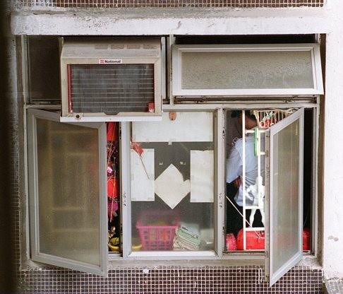 Hiện trường vụ đầu độc bằng khí gas năm 1996. Ảnh: SCMP
