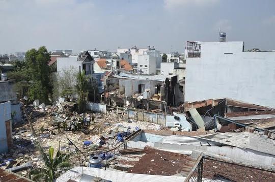 Vụ nổ làm 5 người bị thương và ảnh hưởng đến 86 ngôi nhà xung quanh