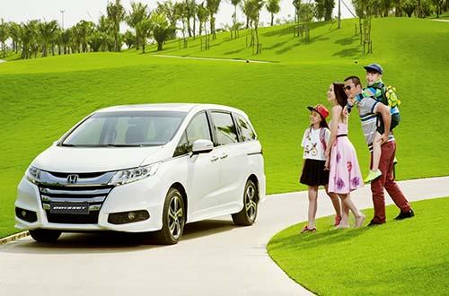 Trải nghiệm cùng Honda Accord 2016 và Odyssey
