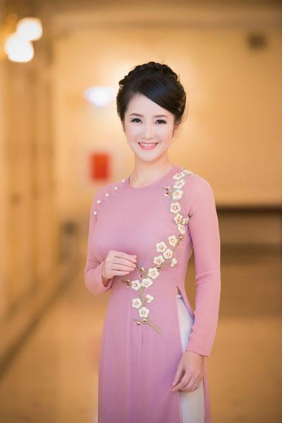 Ca sĩ Hồng Nhung sẽ tham gia trình diễn trong chương trình.(Ảnh do ca sĩ cung cấp)