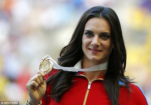 Isinbayeva không còn cơ hội nâng cao thành tích ở Olympic