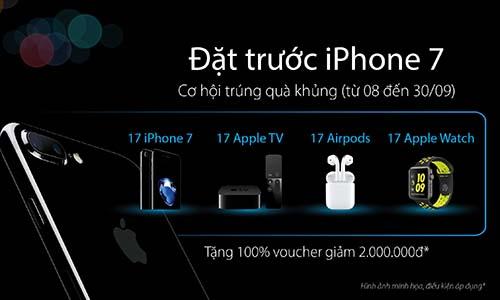 Đặt trước iPhone 7 thế hệ mới
