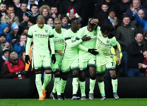 Man City lần đầu tiên vào bán kết Champions League