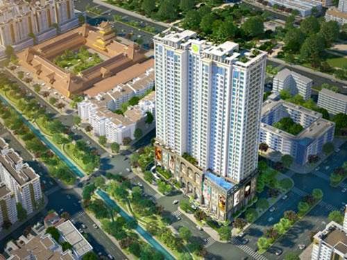 Ba mặt tiền đường, không gian xanh thoáng xung quanh làm cho Lucky Palace trở thành lựa chọn hàng đầu tại khu vực Chợ Lớn