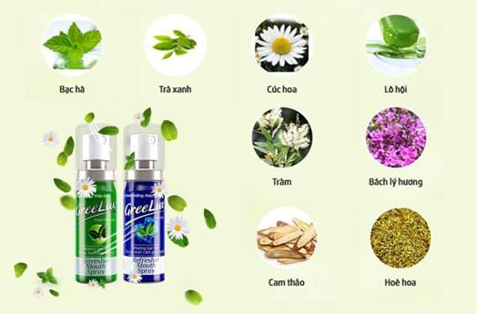 Lựa chọn xịt thơm miệng thảo dược an toàn sức khỏe