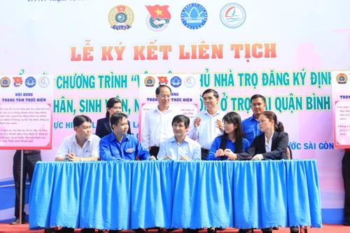 Tổng Công ty Cấp nước Sài Gòn khẳng định chỉ cần giấy xác nhận tạm trú là người thuê trọ được cấp định mức nước sinh hoạt như những người dân có hộ khẩu tại TP HCM