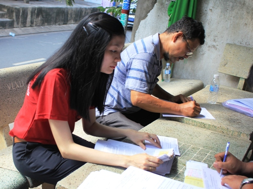 Chủ nhà trọ được hướng dẫn thủ tục đăng ký định mức nước cho người thuê trọ