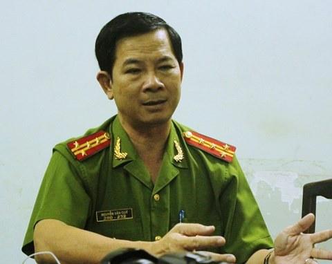 Đại tá Nguyễn Văn Quý - Ảnh: CAO