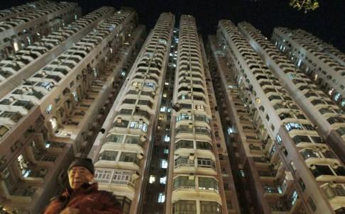 Khu chung cư Tai Yuan, nơi có căn hộ ma ám. Ảnh: Bruce Yan