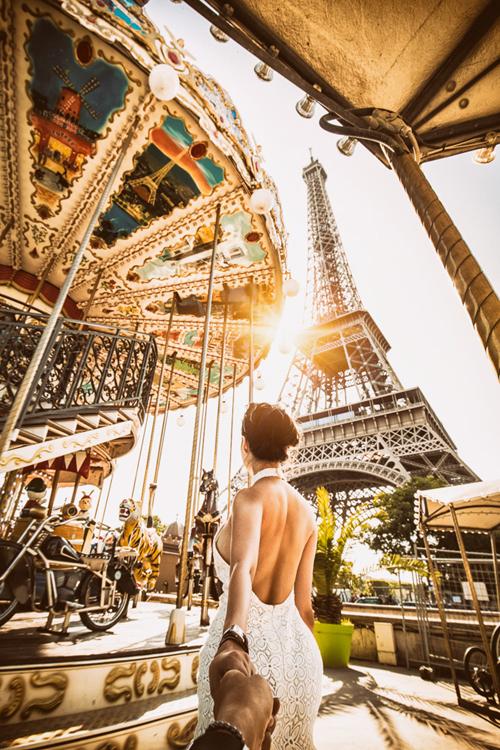 Tháp Effiel - Pháp.