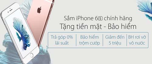 Giảm giá iPhone hơn 5 triệu đồng