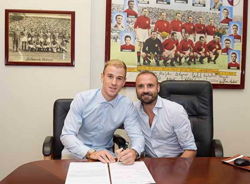 Thủ môn Joe Hart đã cập bến Torino (Ý)