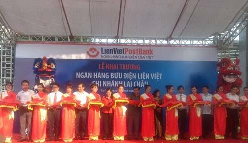 LienVietPostBank khai trương Chi nhánh Lai Châu