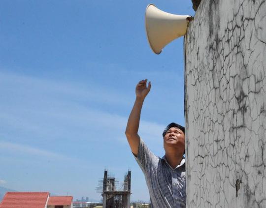Tình trạng can nhiễu sóng loa phát thanh xuất hiện một số nơi trong thời gian qua Ảnh: NLĐO