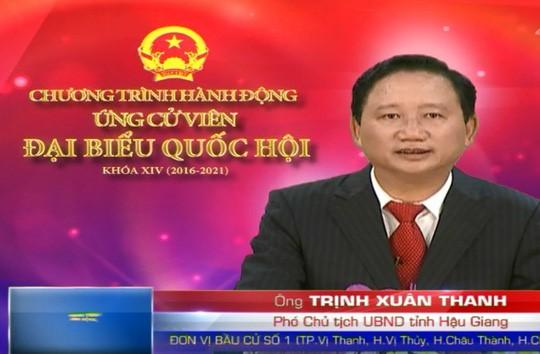 Ông Trịnh Xuân Thanh bị hủy tư cách đại biểu Quốc hội khóa 14. Ảnh: Đông Bình