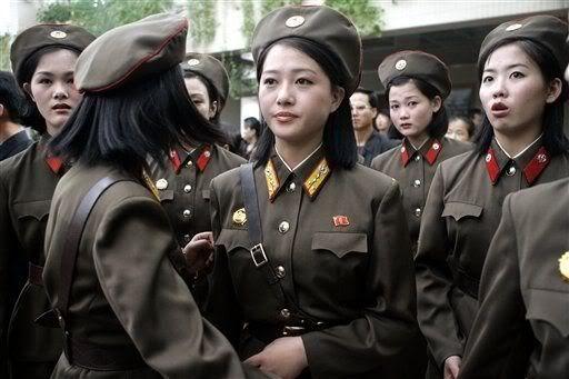 Hàn Quốc nói Triều Tiên đang sử dụng những phụ nữ gợi cảm để quyến rũ kẻ thù giúp đỡ Bình Nhưỡng. Ảnh: Pinterest