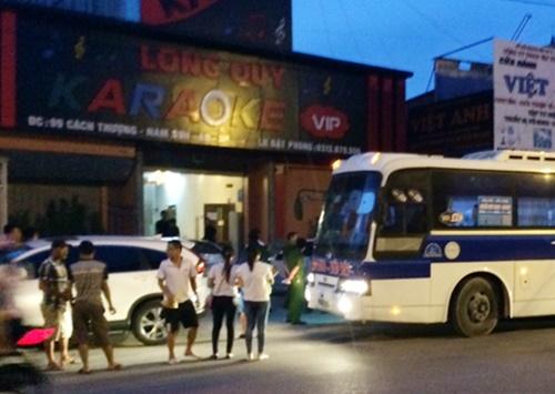 Quán karaoke Long Quy - Ảnh: VTC