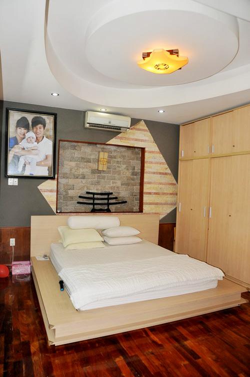Phòng ngủ của vợ chồng Lý Hải