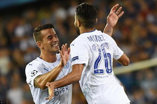 Mahrez lập cú đúp, Leicester thắng tưng bừng