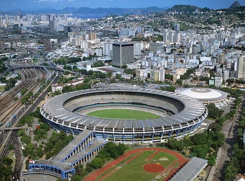 Sân vận động khổng lồ Maracana, nơi diễn ra lễ khai mạc Olympic Rio