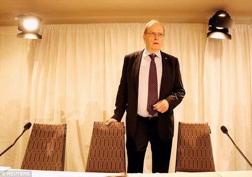 Luật sư Richard McLaren tin tưởng vào bản báo cáo của mình