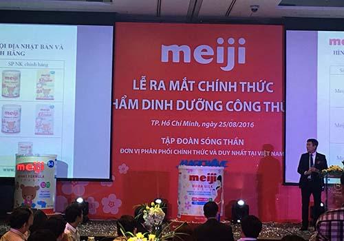 Lễ ra mắt nhập khẩu và phân phối sữa Meiji tại Việt Nam