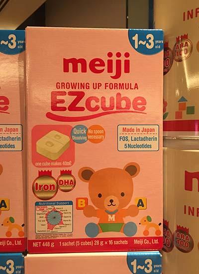 Sữa Meiji đã có hàng chính hãng tại Việt Nam
