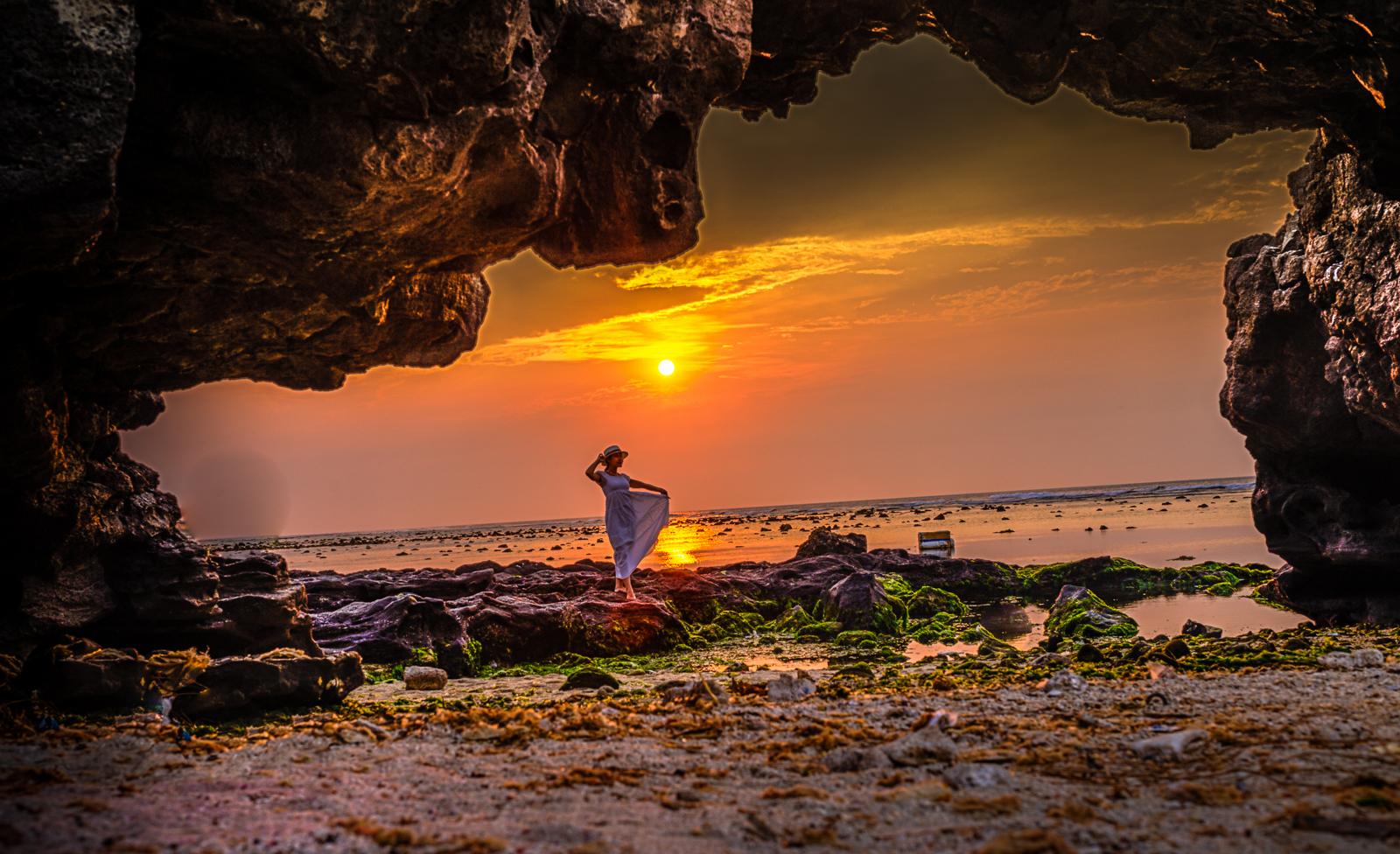 Đảo Lý Sơn (Quảng Ngãi) là một trong những vùng đảo đoàn làm phim sẽ ghi hình cùng các nghệ sĩ (Ảnh Như Phú)
