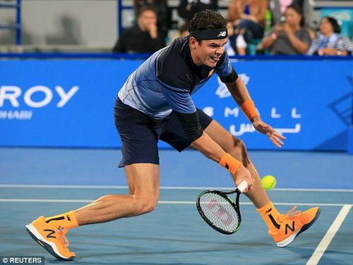 Milos Raonic thua trận chung kết Mubadala trước Nadal