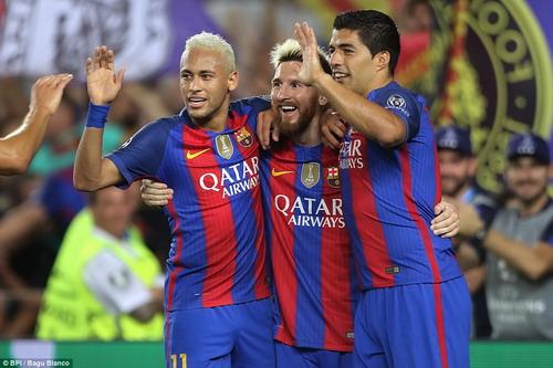 M-S-N trở lại, sức mạnh của Barcelona được khẳng định