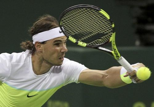 Nadal giành vé vào tứ kết Qatar Open
