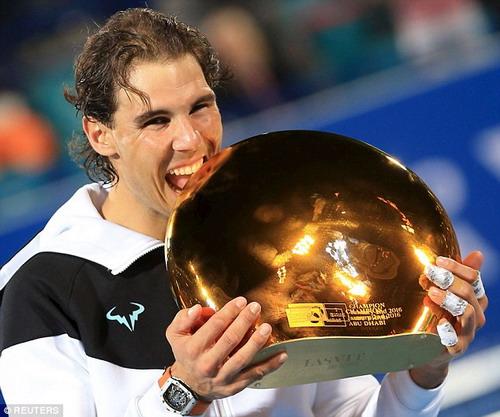 Danh hiệu giải đấu biểu diễn Mabadala giúp Nadal thêm tự tin sau mùa giải 2015 đầy biến động