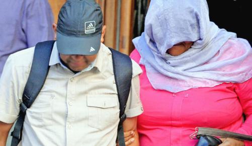Người phụ nữ bị kết tội bắt cóc Zephany Nurse và chồng. Ảnh: INDEPENDENT MEDIA
