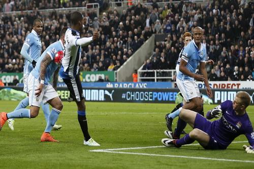 Đối mặt với các chân sút Newcastle ở giải Ngoại hạng