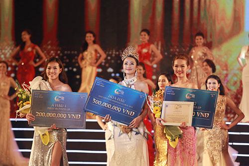Các tân Hoa hậu và Á hậu Bản sắc Việt toàn cầu 2016
