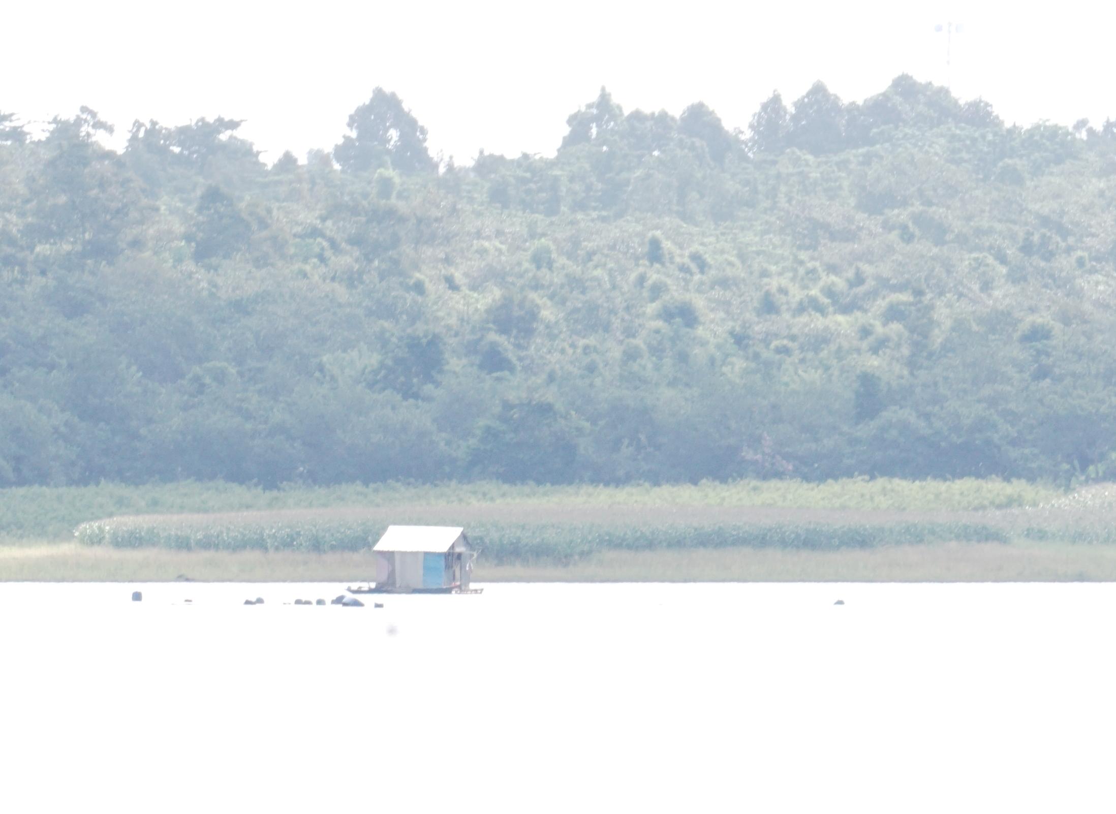 Hồ chứa nước, nơi xảy ra vụ tai nạn thương tâm