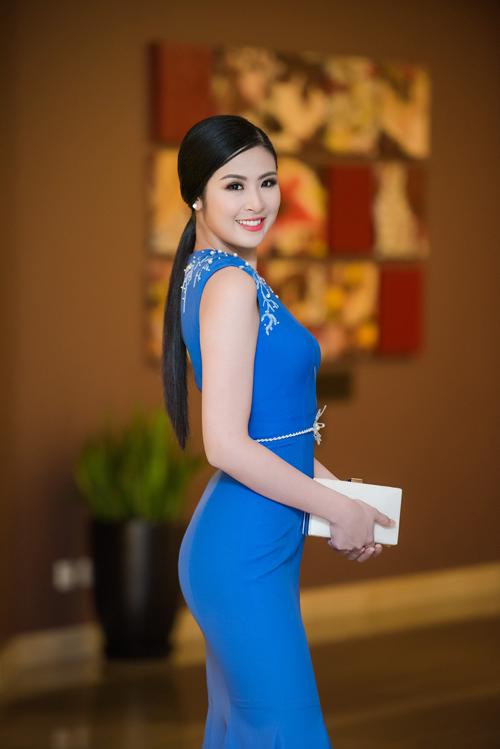 Hoa hậu Ngọc Hân vẫn luôn toả sáng sau 6 năm đăng quang - Ảnh: Hoa hậu Ngọc Hân với trang phục nhà thiết kế Xuân Lê